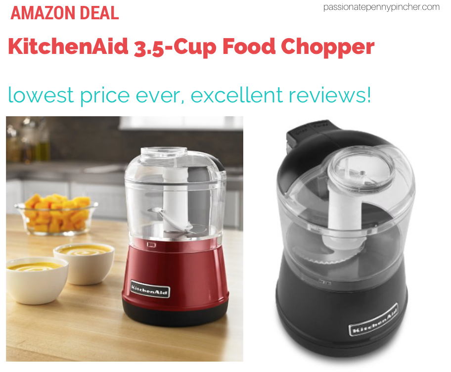 Lowest Price Kitchenaid 3 5 Cup Food Chopper Passionate Penny Pincher