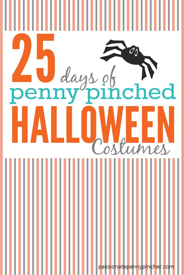 25 days of penny pinched halloween costumes day 2: piñata