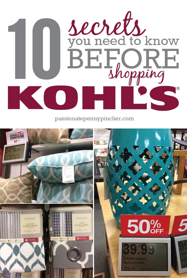 14 Secrets You Need to Know Before Shopping Kohl's ...