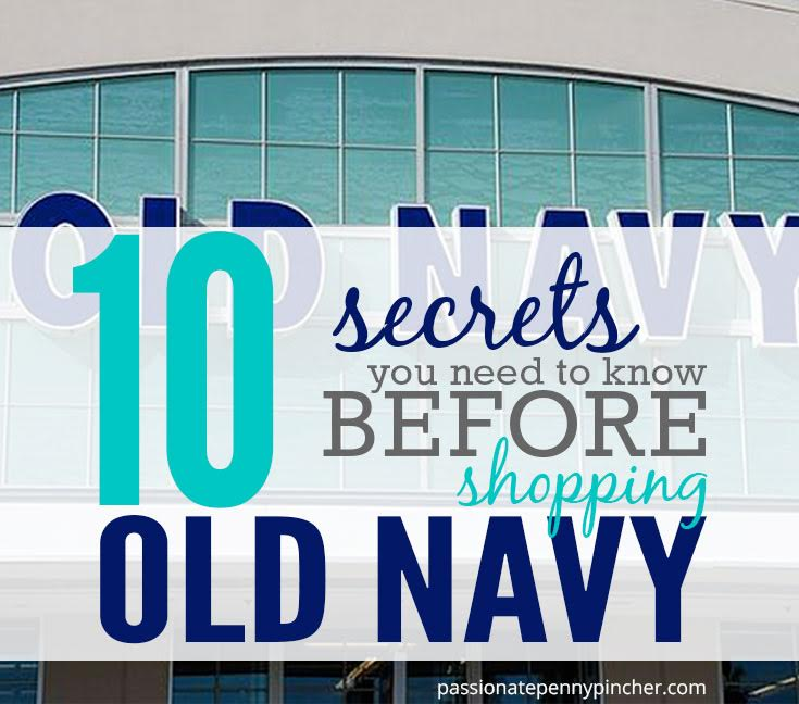 10 secrets you need to know before shopping old navy passionate tip old navy is having a huge sale today including 30 off clearance when you use the code jackpot and 40 off your entire order with the code cool40 fandeluxe Images