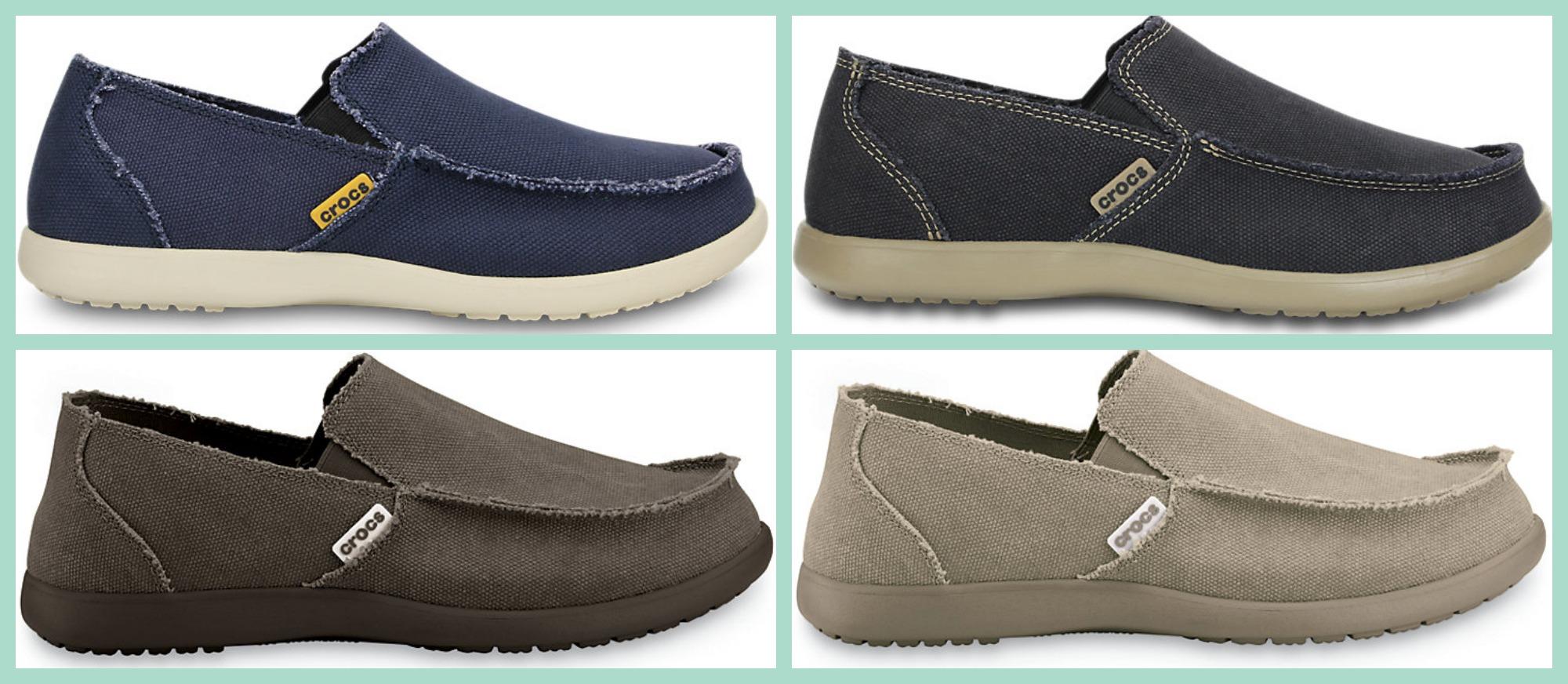 67e2414695c9b8 Crocs Santa Cruz Mens Loafers  19.99 Shipped (Regularly  54.99)