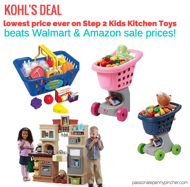 Kohl S Step 2 Kitchen Lowest Price Ever Shopping Carts