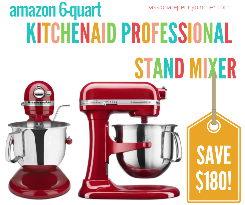 Cyber Monday Deal 17 Save 180 On Kitchenaid 6 Quart Professional