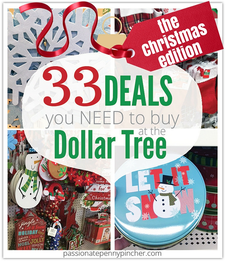 Dollar Tree Christmas Decor And Gift Ideas: 33 Deals You Need To Buy At The Dollar Tree {the Christmas