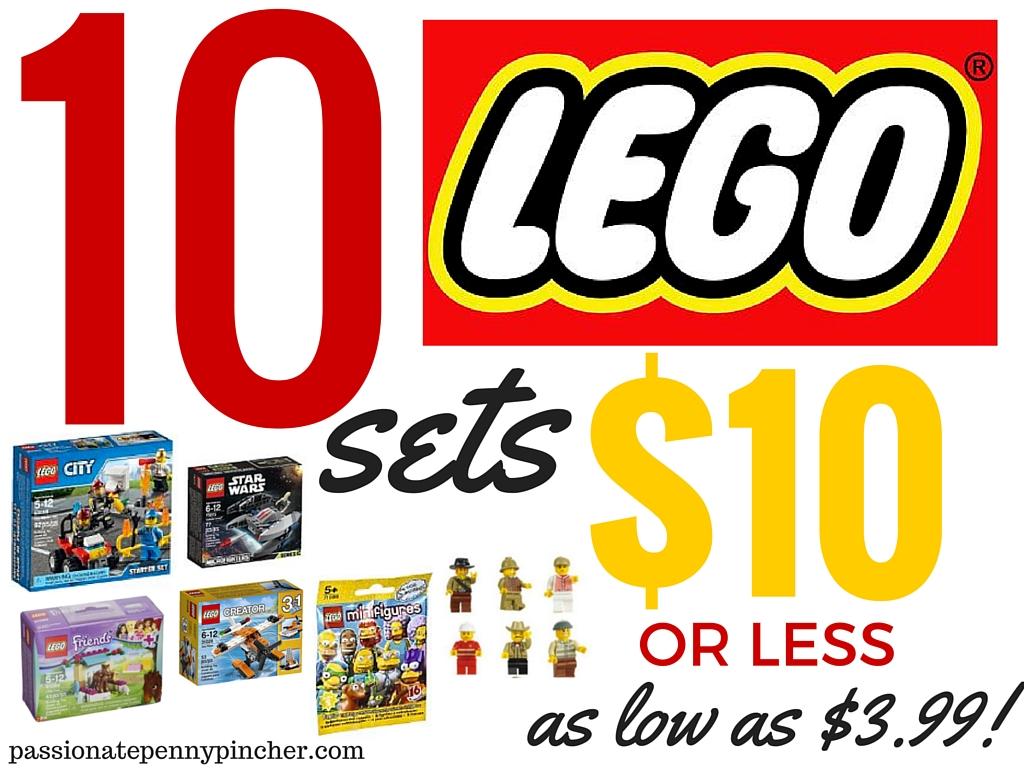 10 Lego Sets