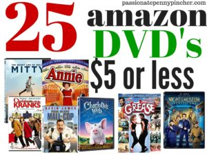 25dvds5orless