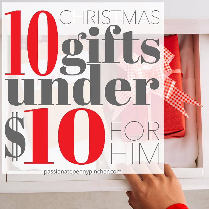 sc 1 st  Passionate Penny Pincher & 10 Christmas Gifts Under $10 For Him