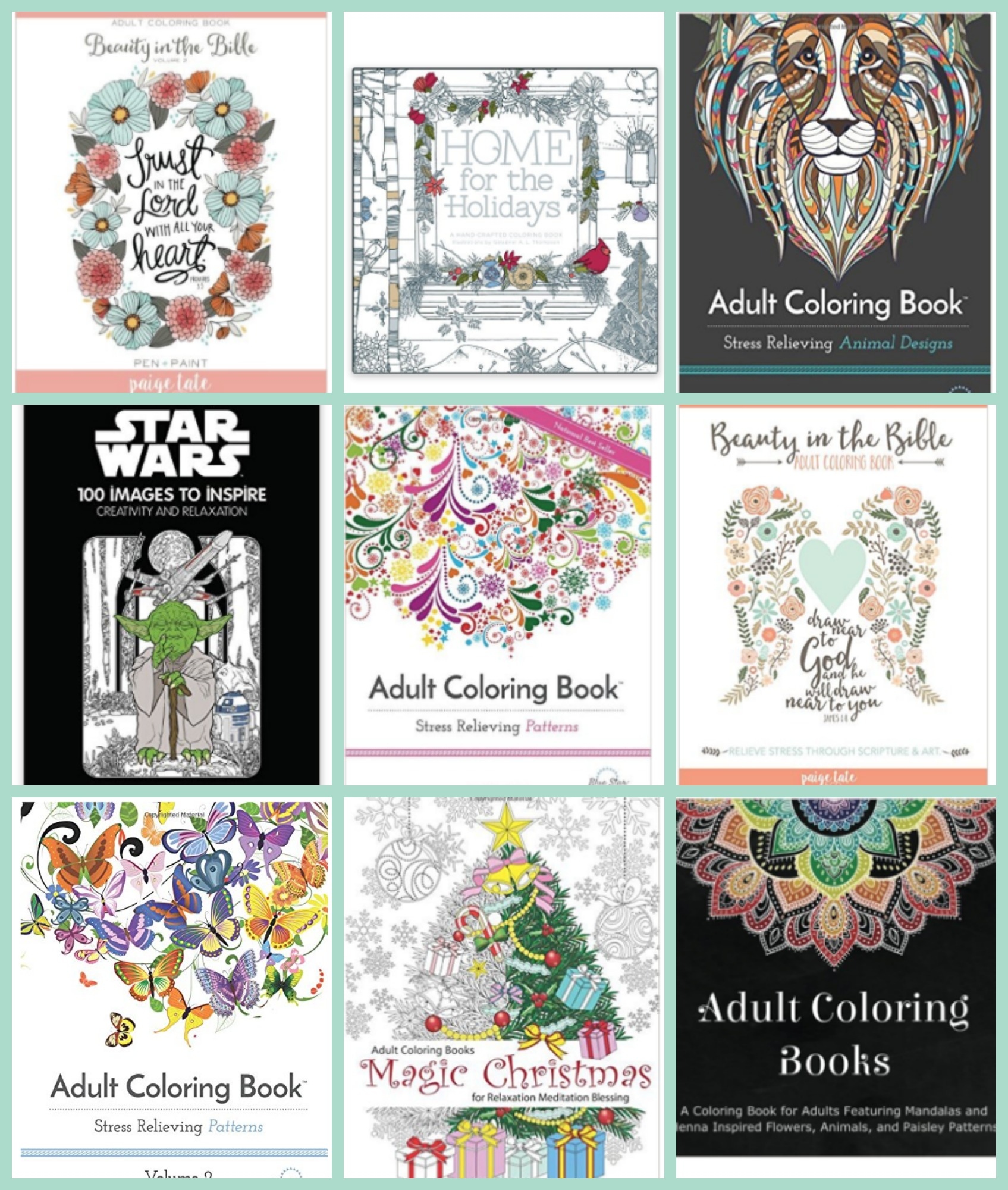 Great Deals on Adult Coloring Books at Amazon | Passionate Penny Pincher