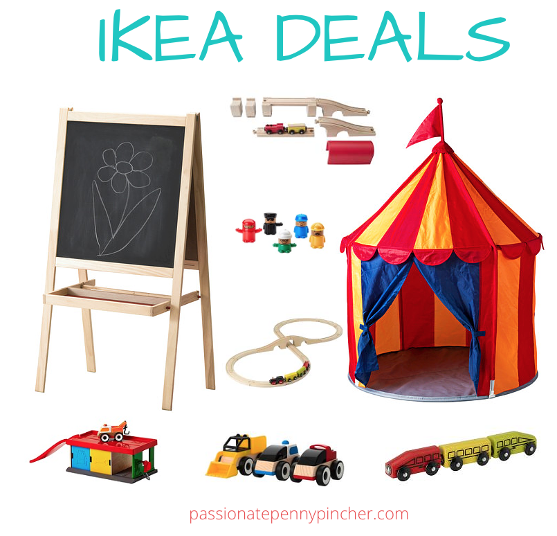 IKEA Kidsu0027 Art Easel $9.99 (+ Circus Play Tent $14.99 and More!) | Passionate Penny Pincher  sc 1 st  Passionate Penny Pincher & IKEA: Kidsu0027 Art Easel $9.99 (+ Circus Play Tent $14.99 and More ...