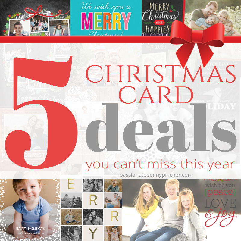 Christmas Deal #5: Christmas Card Deals You Can\'t Miss This Year ...