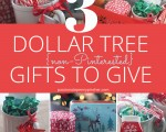3 Dollar Tree {non-Pinterested} Gifts to Give