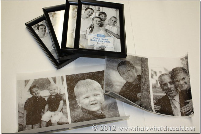 25 Days of Dollar Tree DIY Day 24: Picture Frame Luminary ...