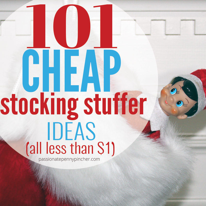 101 Cheap Stocking Stuffer Ideas Passionate Penny Pincher