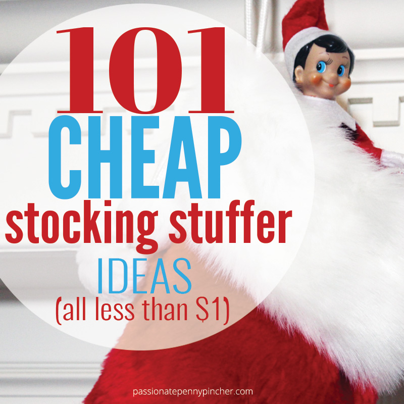 101 cheap stocking stuffer ideas passionate penny pincher for Inexpensive stocking stuffers for adults