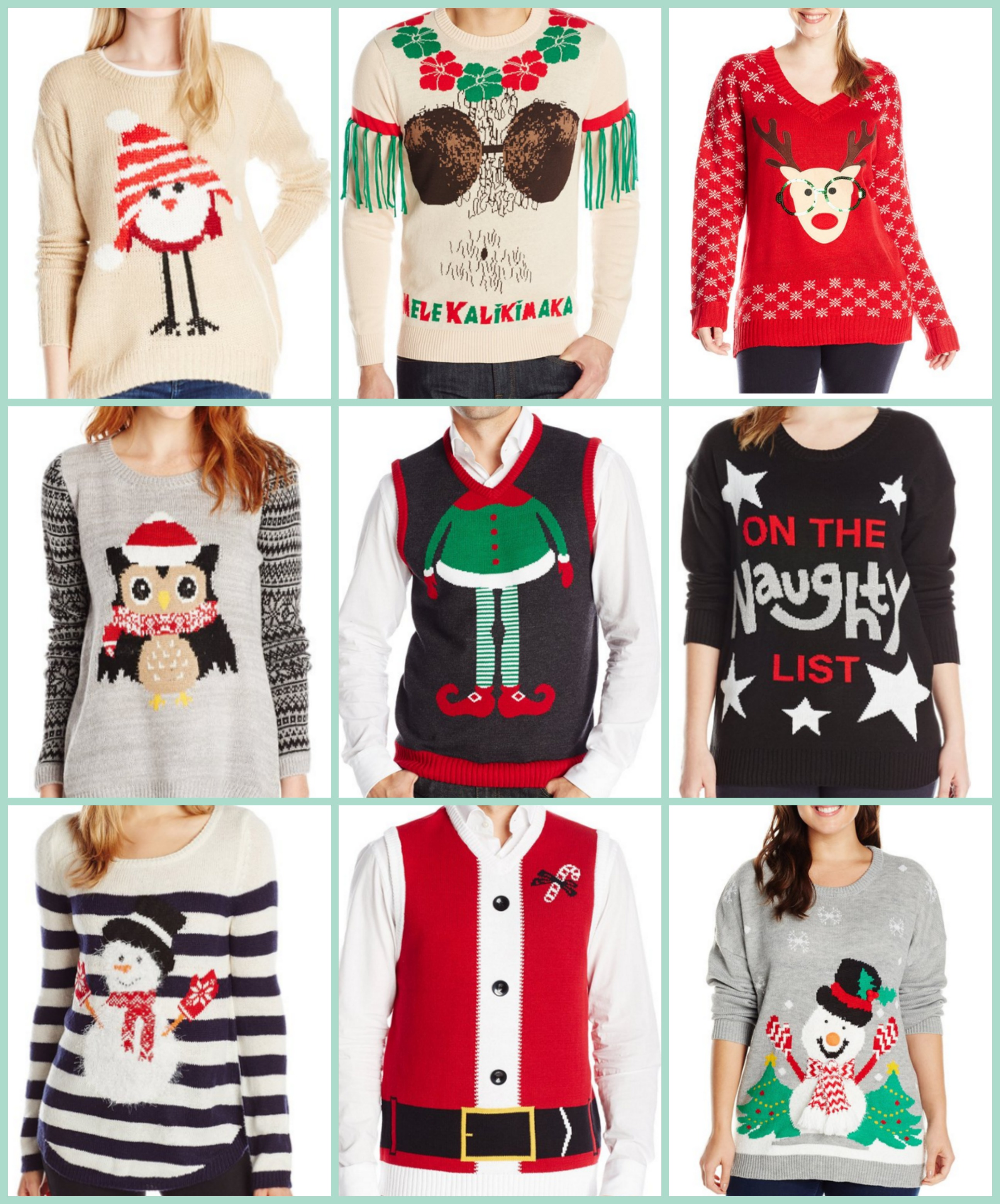 Walmart Christmas Sweater Plus Size Anlis