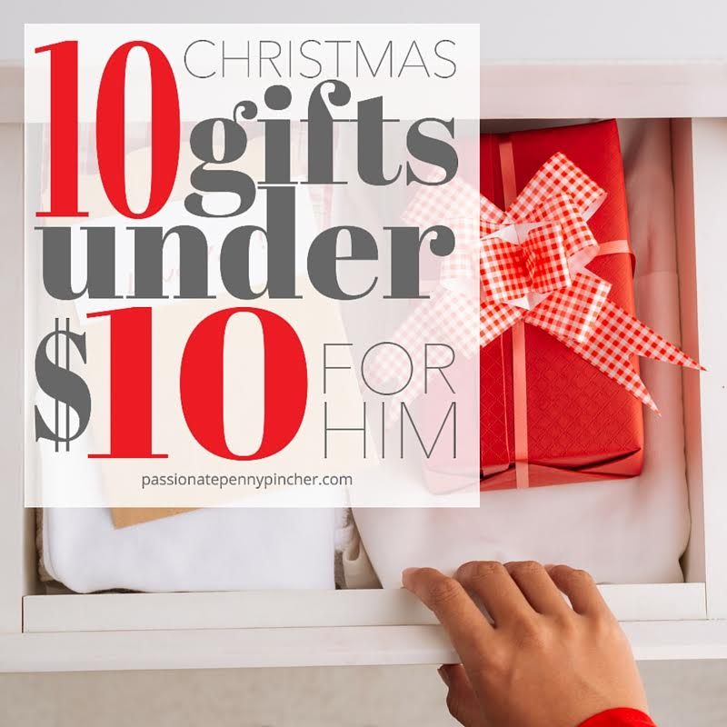 10 gifts under $10 for him