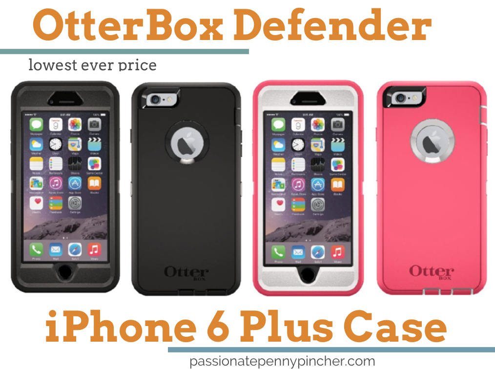 iphone 6 plus cheapest price otterbox defender series iphone 6 plus 23 99 lowest 9673