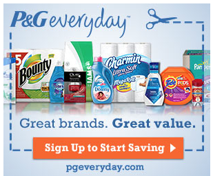 Free P&G Coupons and Samples