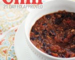 Black Bean Chili - 21 Day Fix Approved