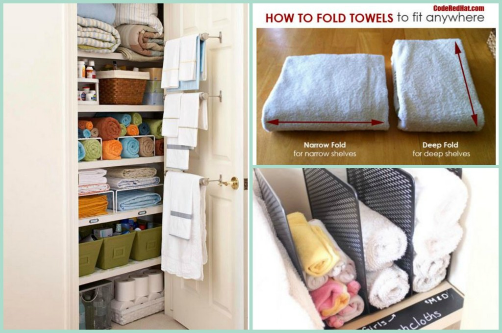 From The Way You Fold Your Towels To The Way You Store Them, These Tips  Will Make Any Linen Closet Or Cabinet More ...
