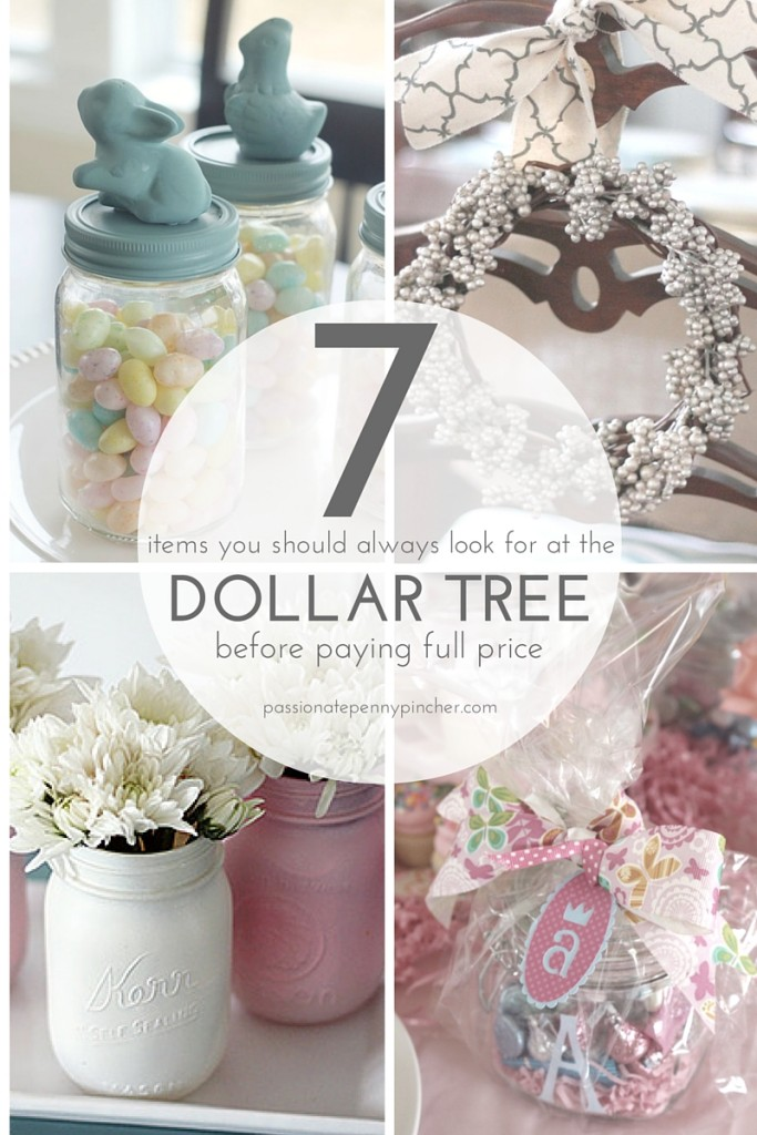 A DIY Project Shouldnu0027t Cost You More Than Buying The Real Deal At A Home  Decor Store, And A Trip To The Dollar Tree Before Paying Retail Can Save  You A ...