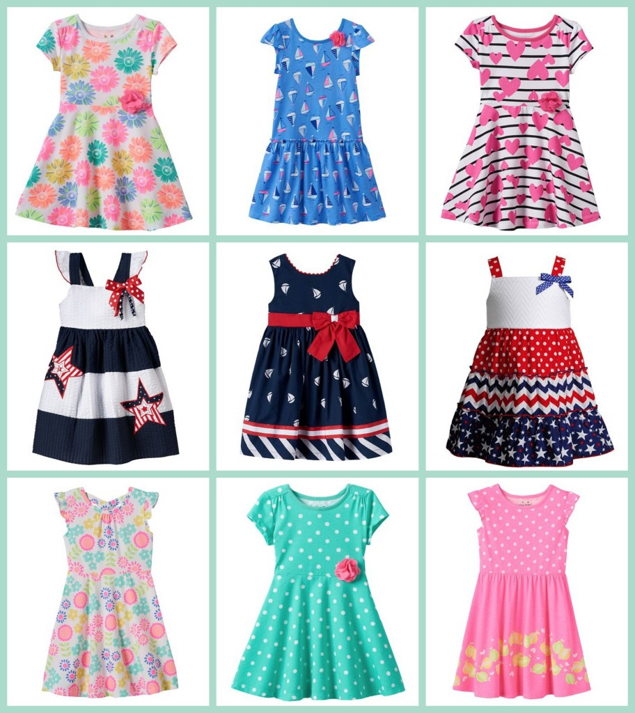 Kohl S Girls Play Dresses 5 36 Each Passionate Penny Pincher