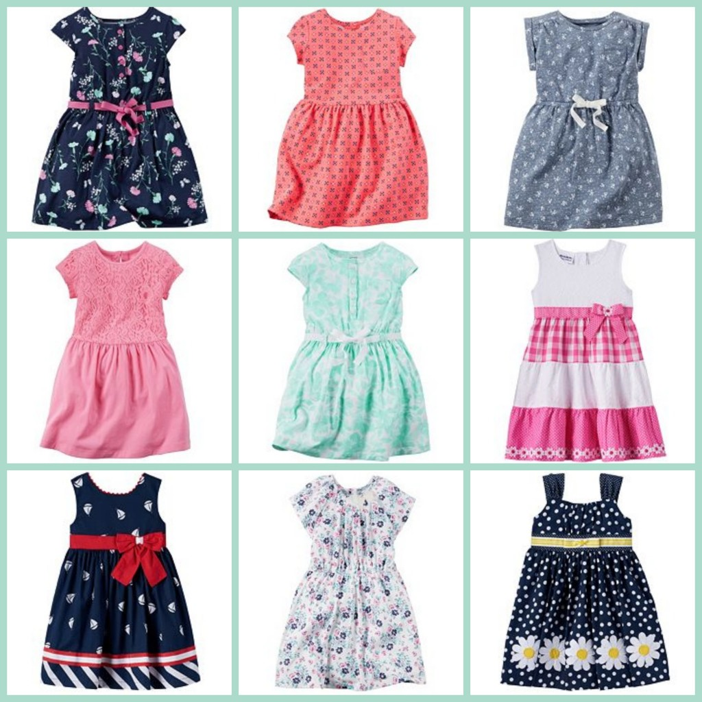 04de84726f040 Kohl's: Girls Spring Dresses $5.95 + Carter's Toddler Boy Outfits $7.92