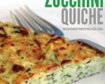 Skinny Zucchini Quiche