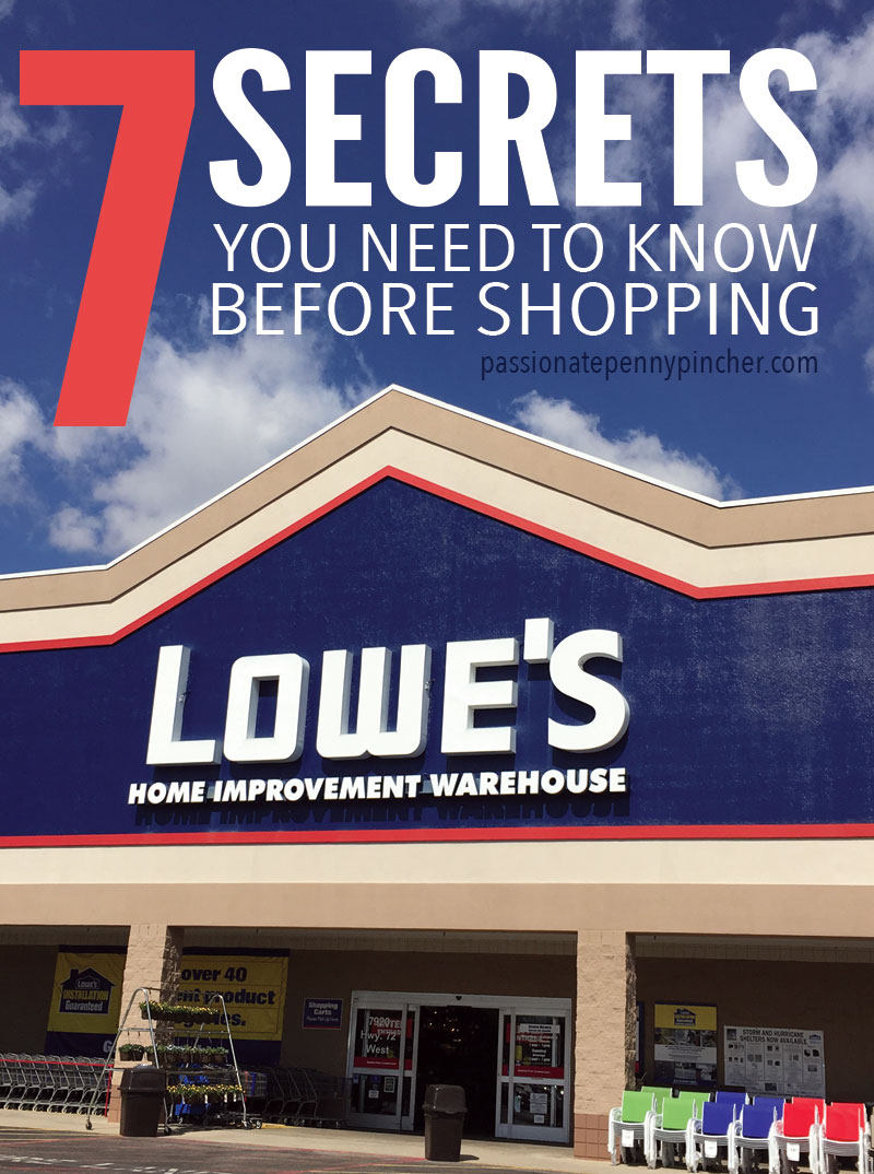 10% Off Military Discount at Lowe's!   Passionate Penny Pincher