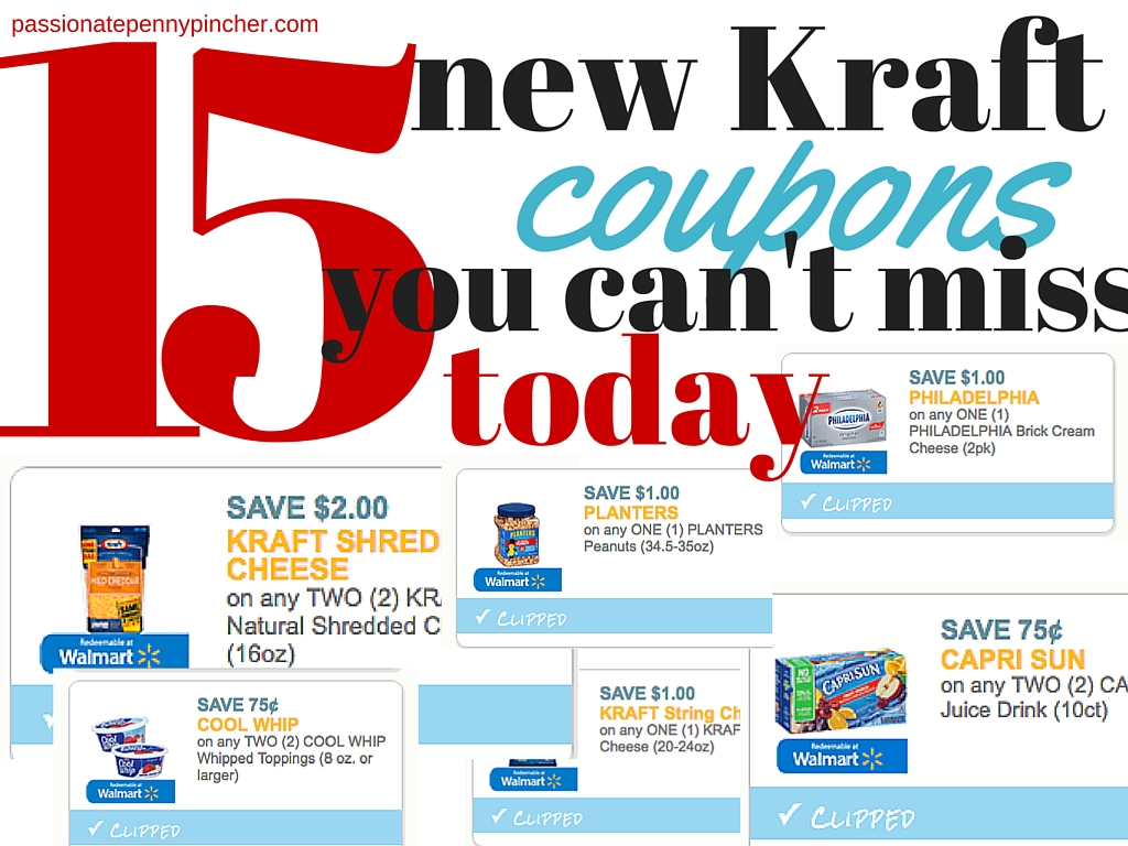 photograph regarding Kraft Coupons Printable identified as Sizzling* 15 Fresh Printable Kraft Discount coupons