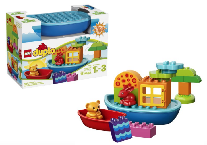 LEGO DUPLO Toddler Build and Boat Fun Building Set $11.20 (Lowest ...