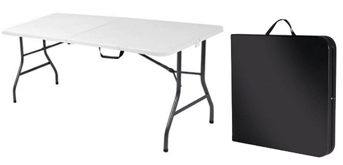 Amazon Just Dropped The Price On This Lifetime Height Adjustable Folding  Utility Table (6 Feet) To $38.88, Which Is By Far The Lowest Price Itu0027s  Ever Been ...
