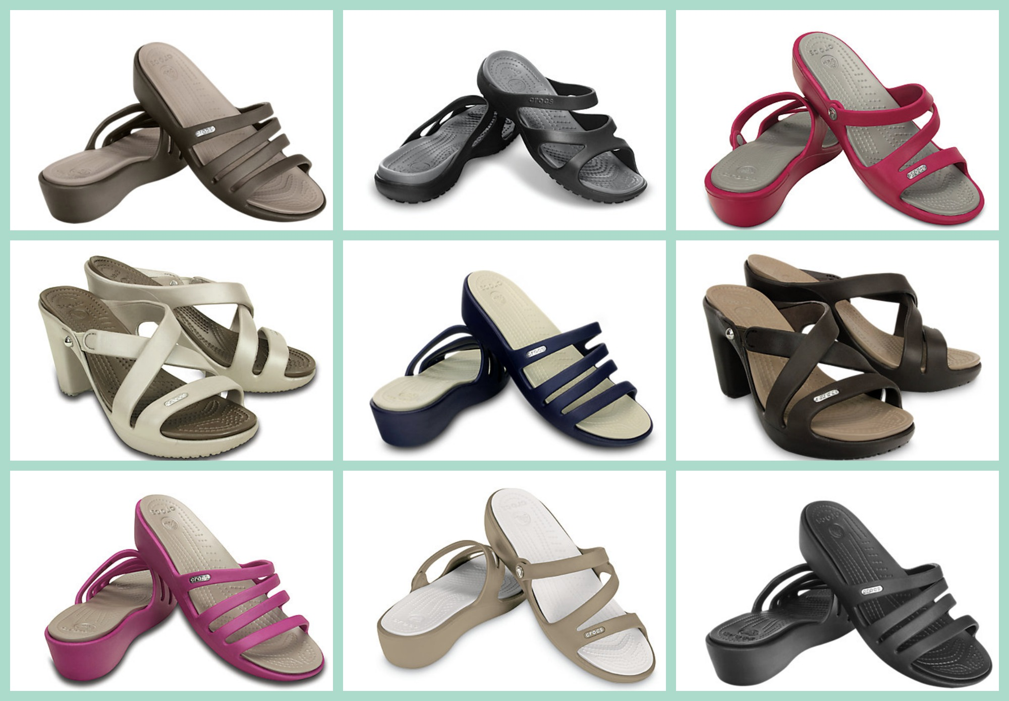 17ec592df39c2 Crocs  50% Off Women s Sandals (As low as  17.49!)