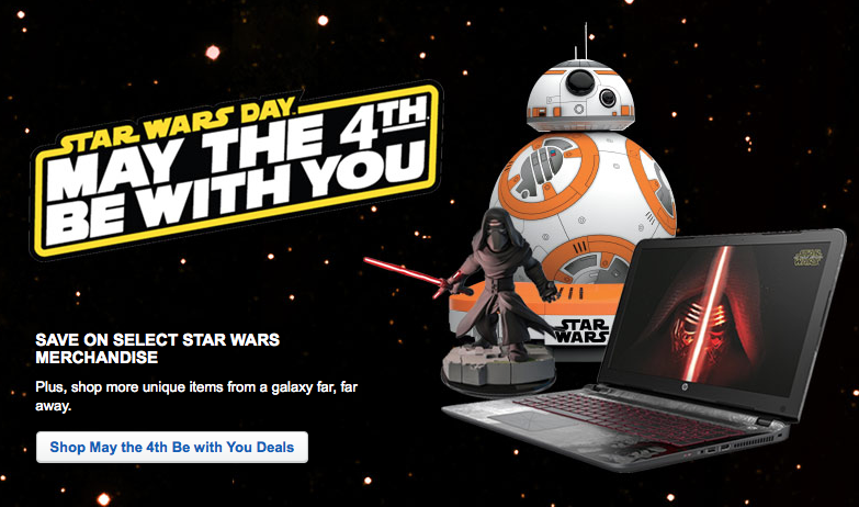 8502bce2af9 May the 4th Be With You Star Wars Deals: Up to 50% Off at Best Buy ...