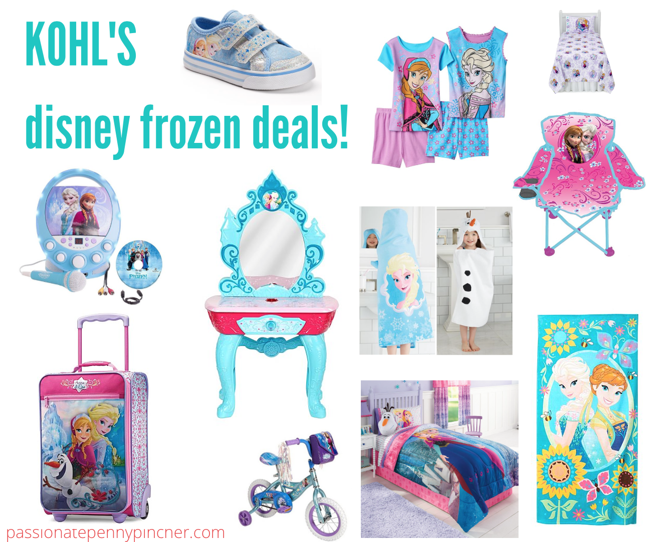 f47bac79d1200 Kohl's: Disney Frozen Deals (Beauty Vanity Set, Luggage, Clothing, Shoes,  and More!)