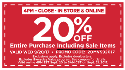 Head Over To Michaels Print This Coupon For 20 Off Your Entire Purchase From 4pm Close Including Sale Items Deal Is Good In Stores With