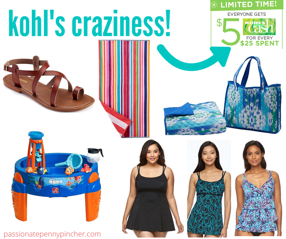 Kohl's Memorial Day Sale | Big One Beach Towels, Swimdress, Beach ...
