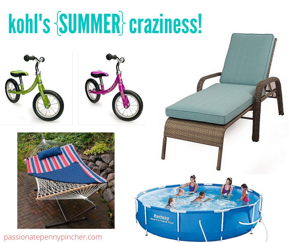 Kohl s Summer Craziness