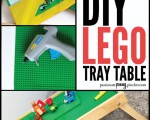 DIY Lego Tray Table