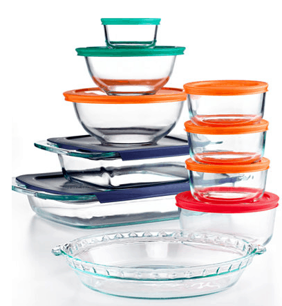 Right Now At Macyu0027s, You Can Get Some Nice Deals On Pyrex! Pick Up This  Pyrex 19 Piece Bake, Store And Prep Set With Colored Lids For Just $19.99  After ...