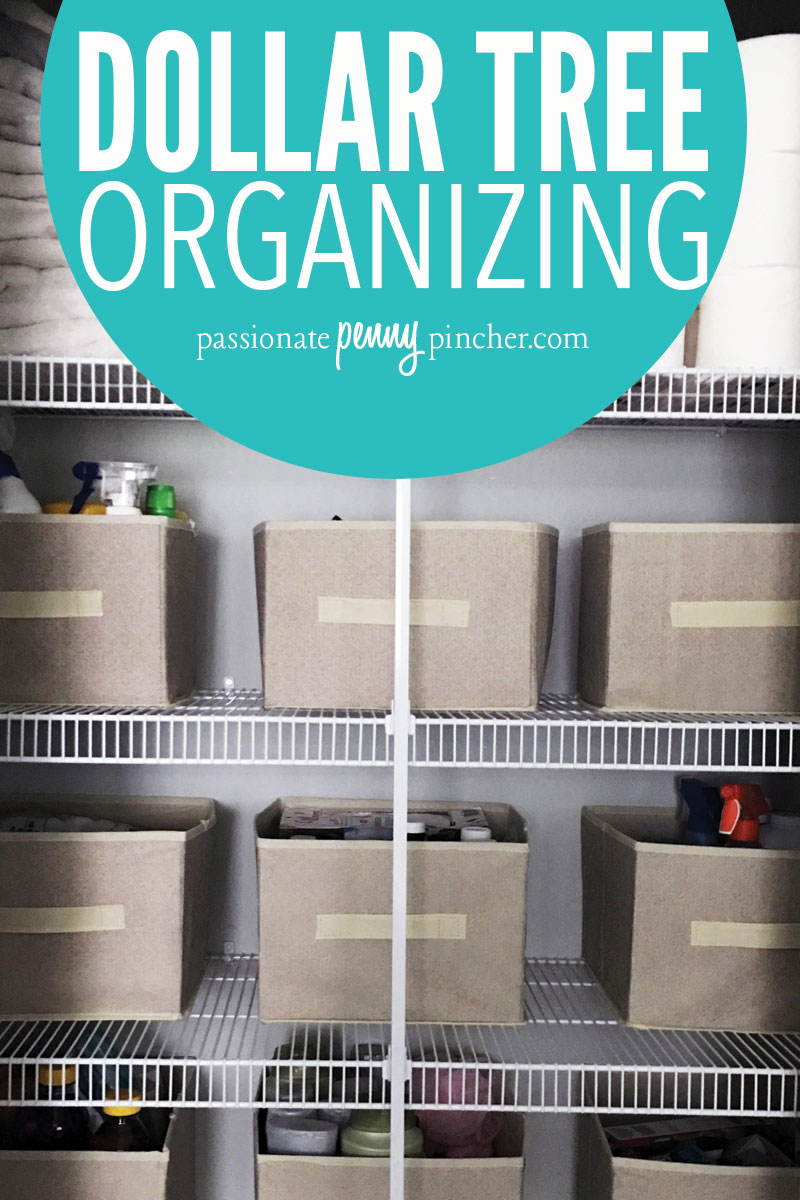 dollar tree organizing | passionate penny pincher
