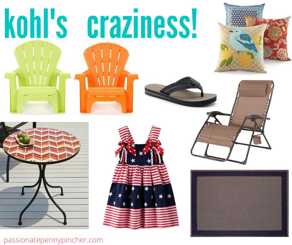 d59ed3a9e330d Kohl's Summer Fun Craziness | Outdoor Pillows, Mosaic Table, Kids ...