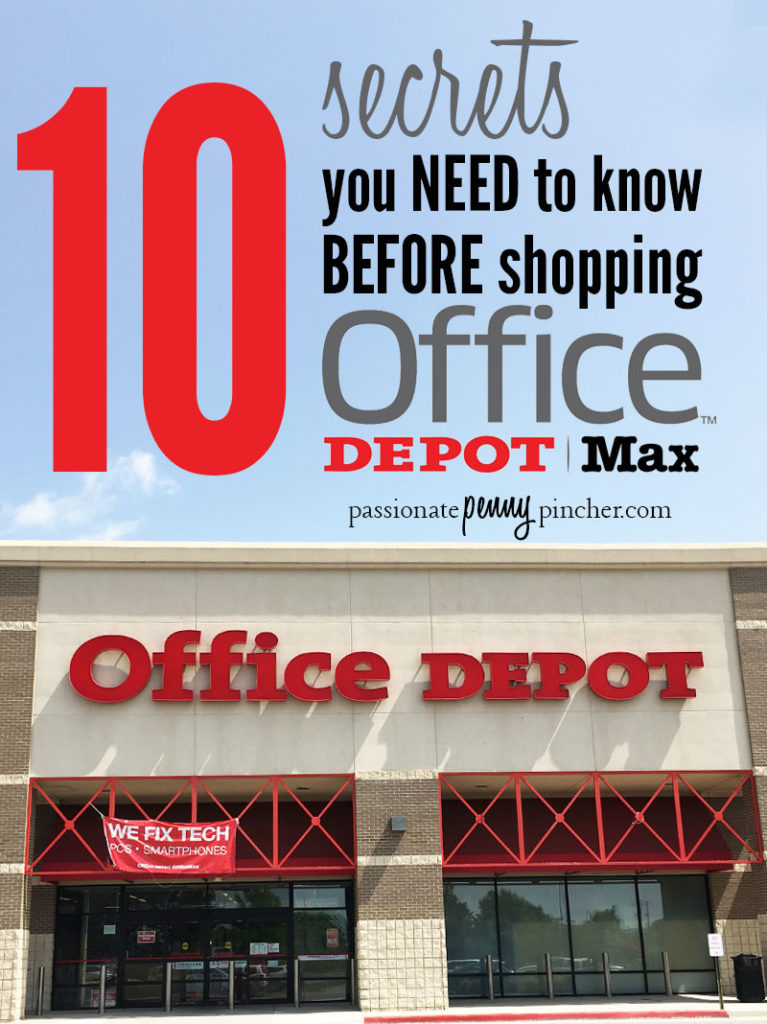 10 Back To School Shopping Tips For Office Depot Office Max