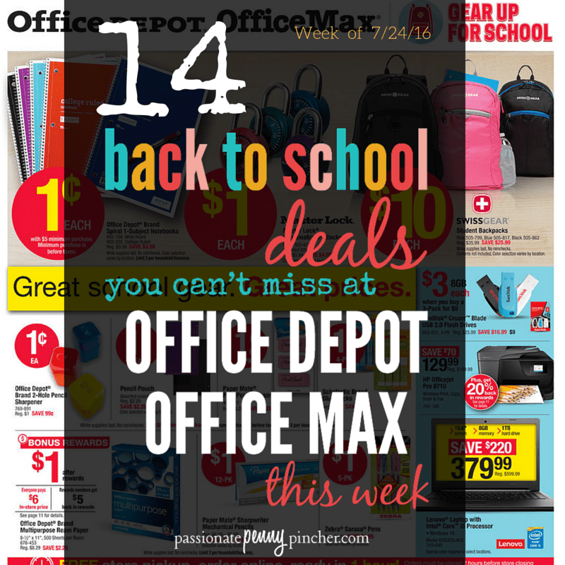 Back to School OFFICE DEPOT