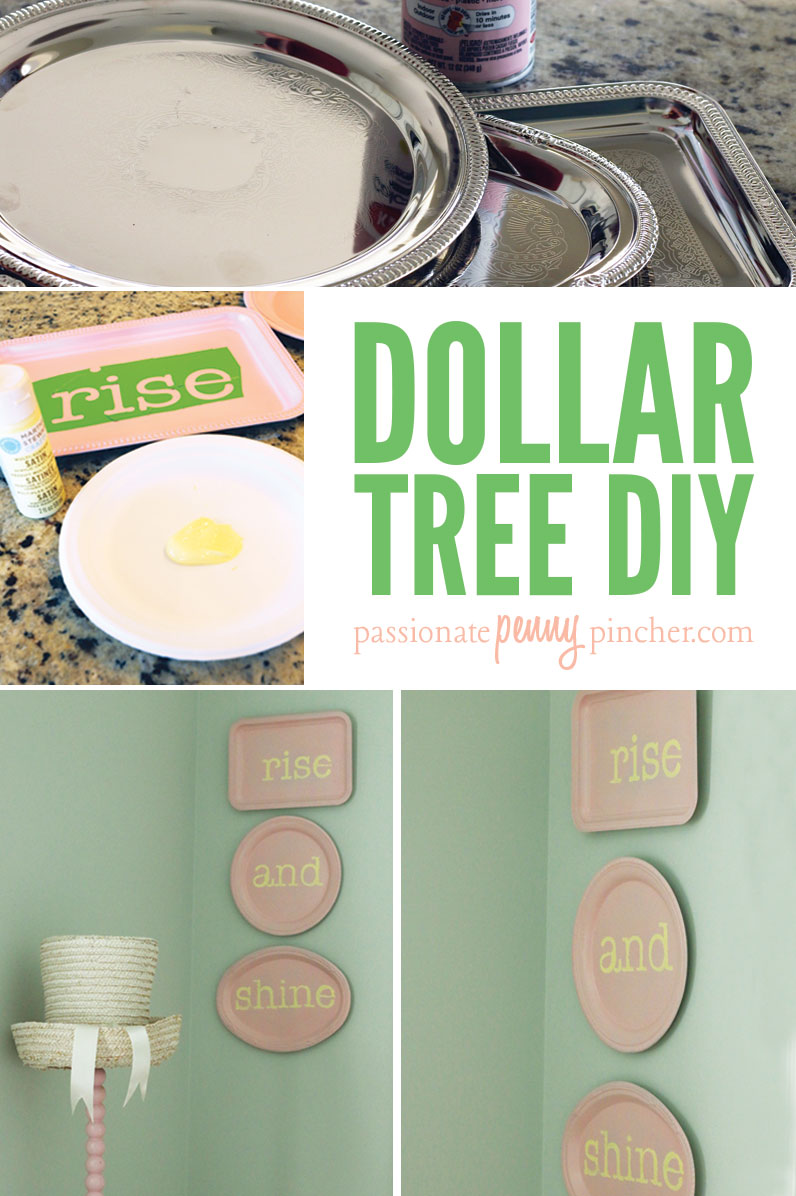Dollar tree diy passionate penny pincher for Bathroom decor dollar tree
