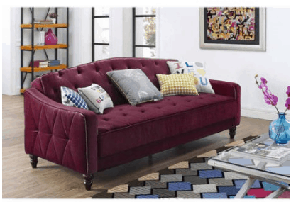 Tufted Vintage Sleeper Sofa Only 299
