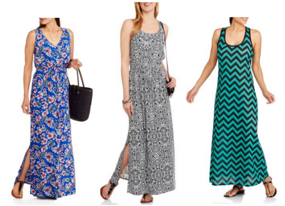 751fa771e23 Right now at Walmart.com – hurry to score a great deal on select clearance  Maxi Dresses for as low as  5!