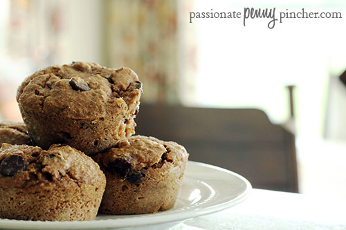 wholewheatchocolatechipbananamuffins3