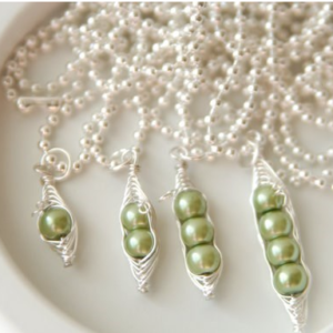 Mama's Sweet Peas Necklaces