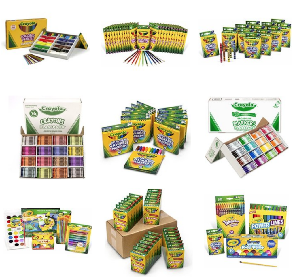 eb69ec76f309 50% Off Select Crayola Items – Today Only!